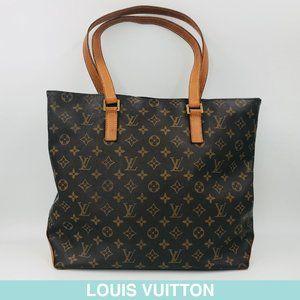 Auth Louis Vuitton Monogram Cabas Alto tote M51152